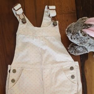 Baby Gap Overall Shorts